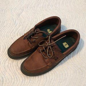 Frye boat shoes